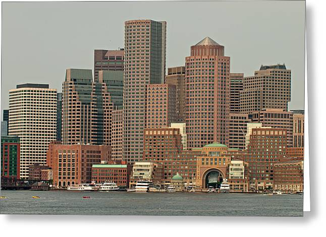 Boston Ma Greeting Cards - Gateway to Boston Greeting Card by Paul Mangold