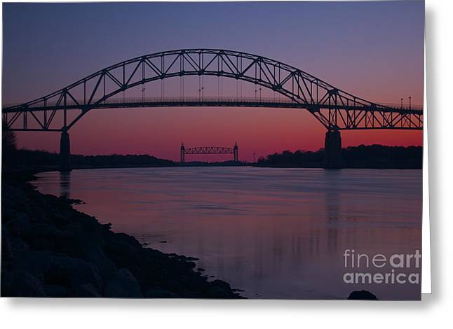 Recently Sold -  - Amazing Sunset Greeting Cards - Gateway to Cape Cod Greeting Card by Amazing Jules