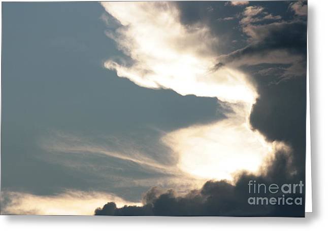 Overcast Day Greeting Cards - Gateway to Heaven Greeting Card by Barbara Bardzik