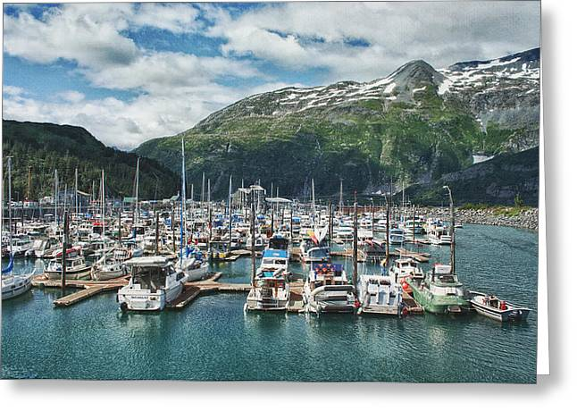 Boat Cruise Greeting Cards - Gateway to Prince William Sound Alaska Greeting Card by Kim Hojnacki