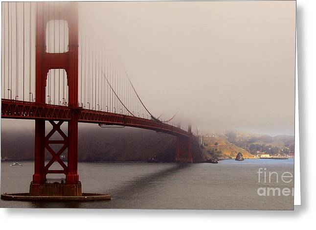 Sausalito Greeting Cards - Gateway to Sausalito Greeting Card by Scott Cameron