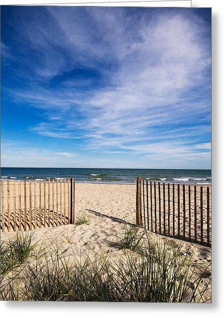 Myrtle Beach Greeting Cards - Gateway to Serenity Myrtle Beach SC Greeting Card by Stephanie McDowell