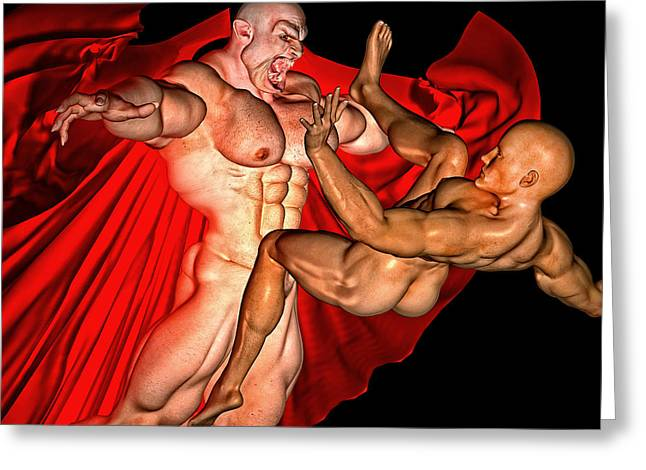from August gay male painting greeting cards