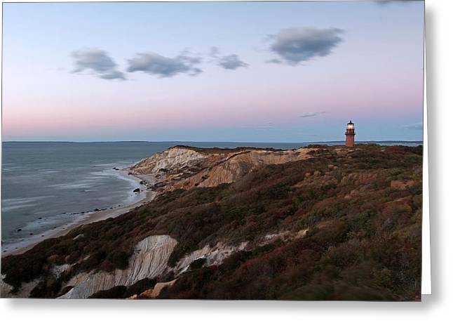 Vineyard Art Greeting Cards - Gay Head Lighthouse Greeting Card by Juergen Roth
