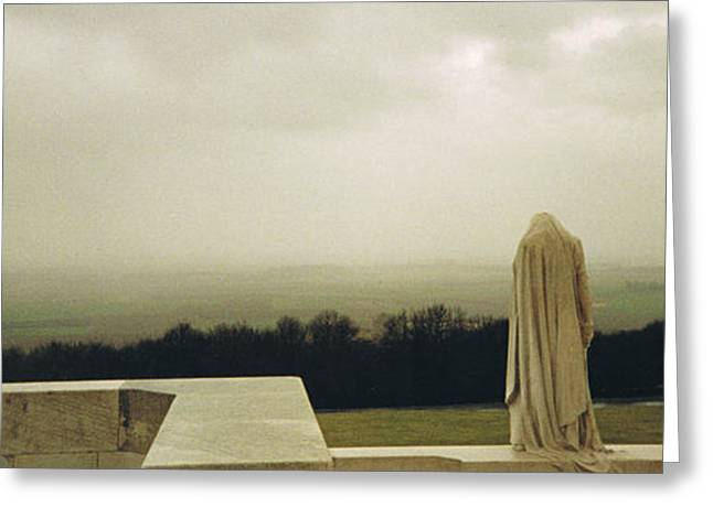 Wwi Greeting Cards - Gazing with Silent Sorrow Greeting Card by Eoghan Moriarty