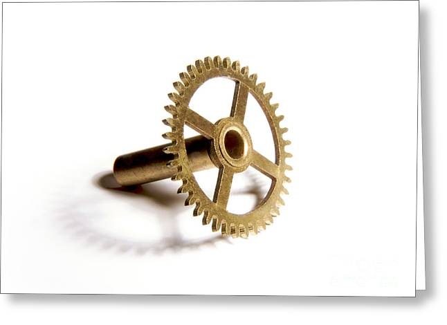 Equipment Greeting Cards - Gear Greeting Card by Bernard Jaubert