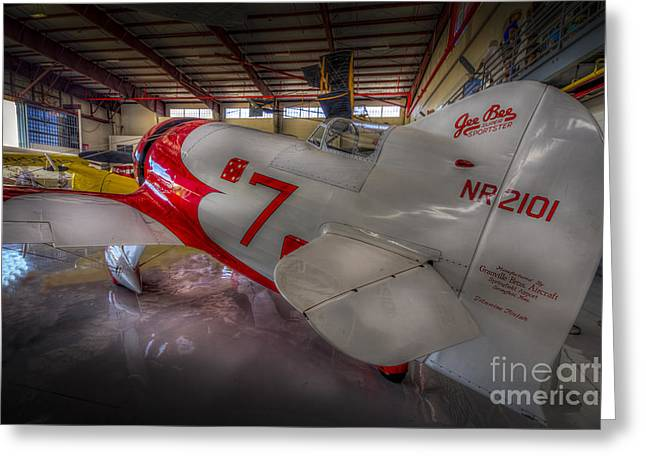 Fix Greeting Cards - Gee Bee Super Sportster Greeting Card by Marvin Spates