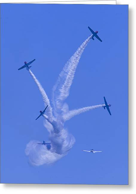 Oc Greeting Cards - Geico Skytypers Tree of Smoke Greeting Card by Donna Corless
