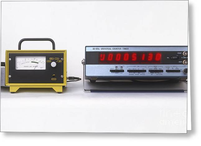 Geiger Counter Greeting Cards - Geiger Counters Greeting Card by Dorling Kindersley