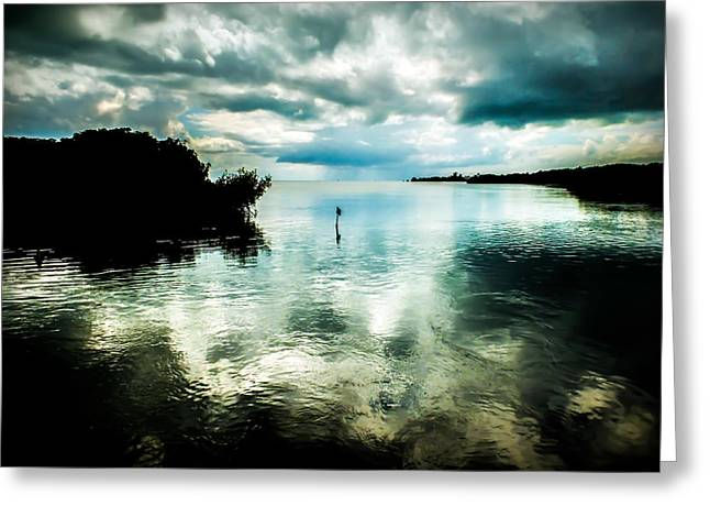 Approaching Storm Greeting Cards - Geiger Key Greeting Card by Karen Wiles