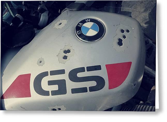 Gelande Sport Fuel Tank Greeting Card by Patricia Januszkiewicz