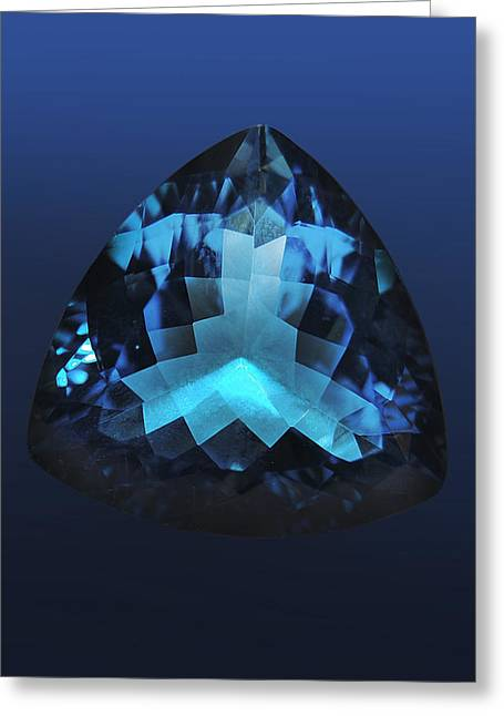 Reflex Greeting Cards - Gem  Greeting Card by Gina Dsgn