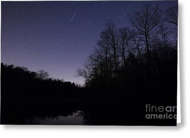 Geminids Greeting Cards - Geminid Meteor Greeting Card by Jonathan Welch