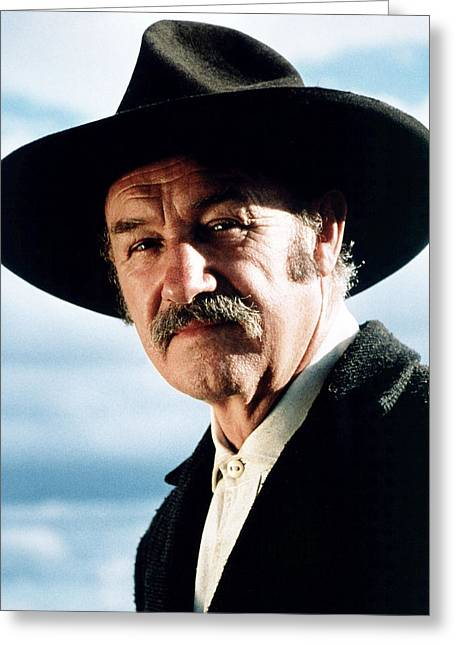 Unforgiven Greeting Cards - Gene Hackman in Unforgiven  Greeting Card by Silver Screen