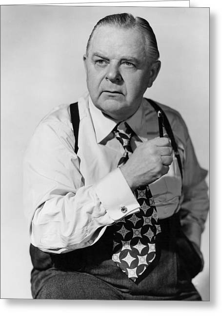 Genes Greeting Cards - Gene Lockhart Greeting Card by Silver Screen