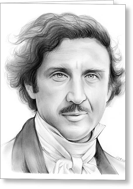 Gene Wilder Greeting Card by Greg Joens