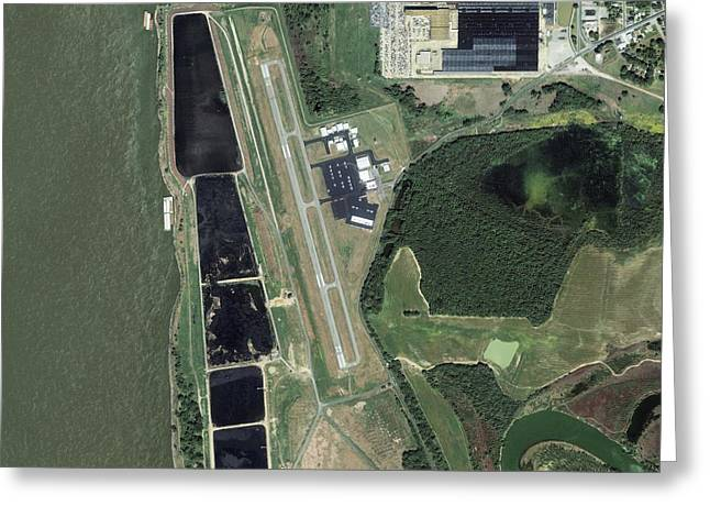 Tennessee River Greeting Cards - General DeWitt Spain Airport, USA Greeting Card by Science Photo Library