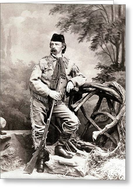 Last Stand Greeting Cards - General George Custer Greeting Card by Unknown