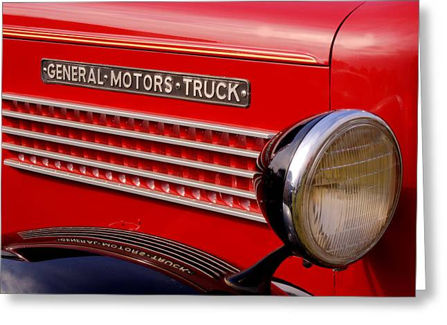 Thomas Young Photography Greeting Cards - General Motors Truck Greeting Card by Thomas Young