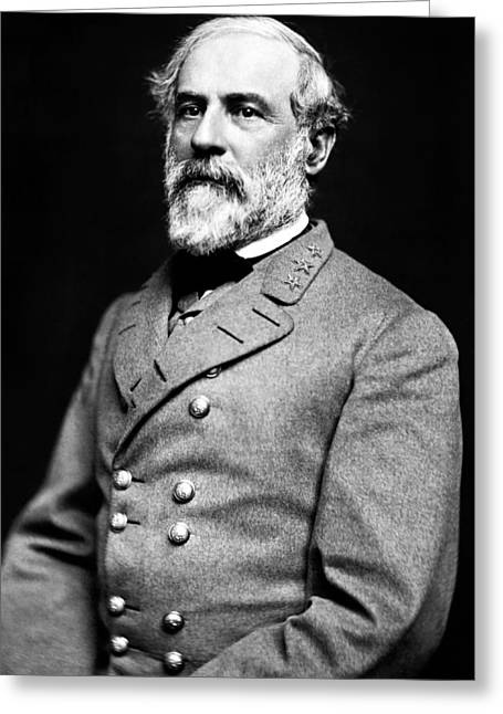 The General Lee Photographs Greeting Cards - General Robert E Lee 1862 Greeting Card by Mountain Dreams