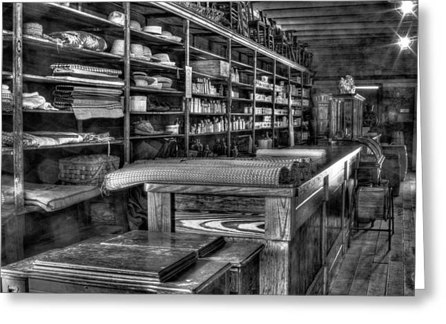 General Store Greeting Card by Dawn Currie