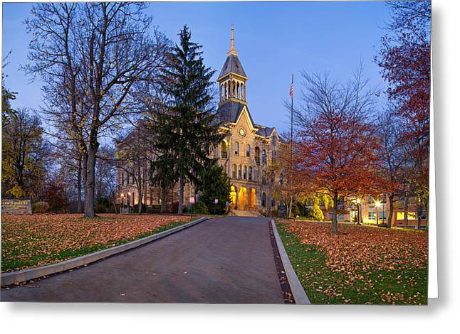 Geneva College Greeting Card by Emmanuel Panagiotakis