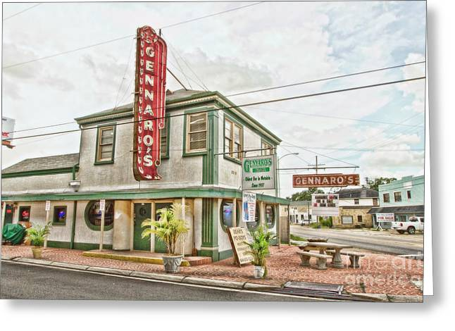 Metairie Greeting Cards - Gennaros Greeting Card by Scott Pellegrin