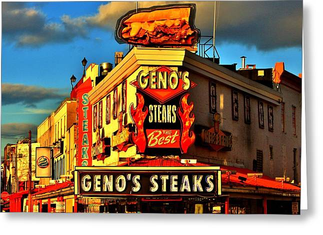 Geno's Greeting Card by Benjamin Yeager