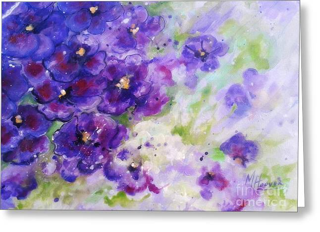 Arkansas Paintings Greeting Cards - Gentle Dance In The Rain  Greeting Card by MarLa Hoover