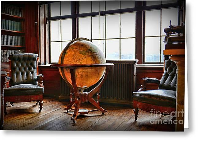 Edison Greeting Cards - Gentlemans Room Greeting Card by Paul Ward