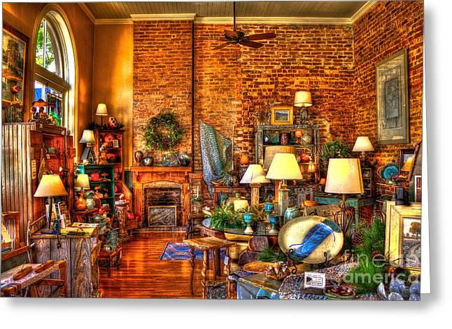 Living Artist Greeting Cards - Genuine Georgia Store in Greensboro GA Greeting Card by Reid Callaway