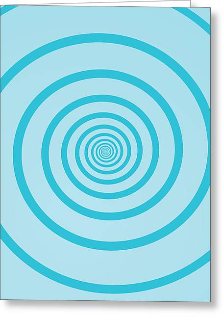 Rotate Paintings Greeting Cards - Geom ST006 Greeting Card by Dhouib Skander