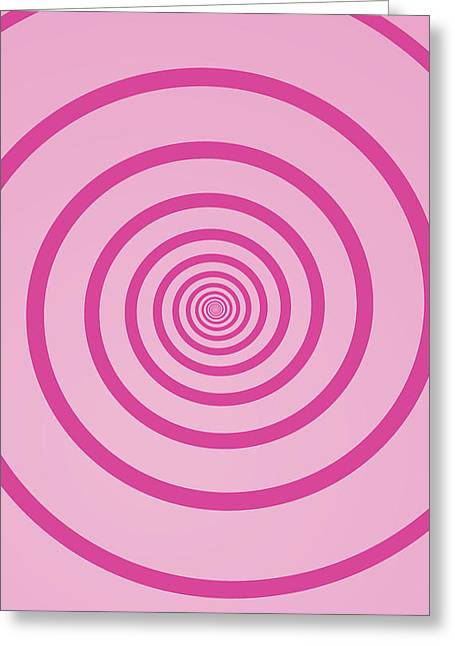Vertigo Digital Art Greeting Cards - Geom ST007 Greeting Card by Dhouib Skander
