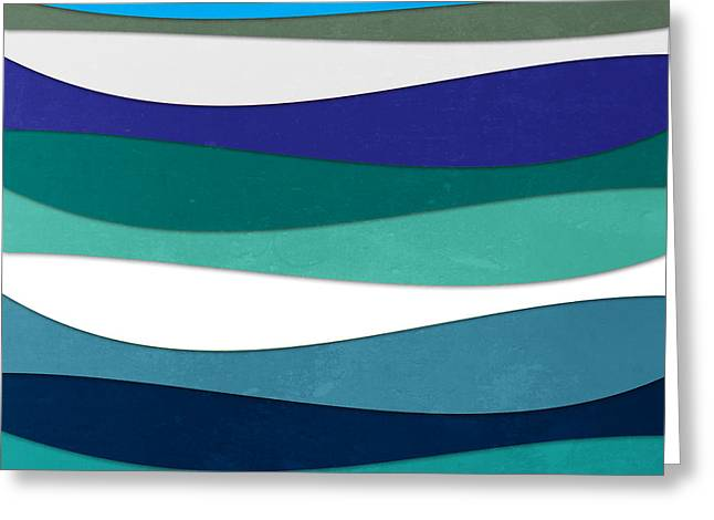 Surreal Geometric Greeting Cards - Geometric 16  Greeting Card by Mark Ashkenazi