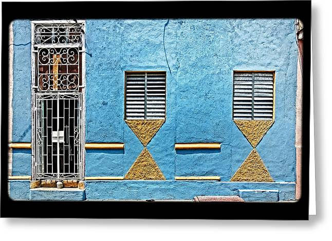 Grate Greeting Cards - Geometrics Greeting Card by Dawn Currie