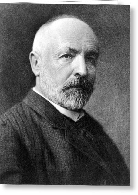 Rational Greeting Cards - Georg Cantor, German mathematician Greeting Card by Science Photo Library