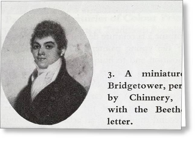 George Bridgetower Greeting Card by British Library