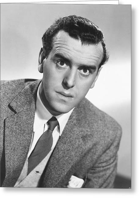 Cole Greeting Cards - George Cole Greeting Card by Silver Screen