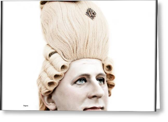British Royalty Greeting Cards - George During His Pretty Days  Greeting Card by Steven  Digman