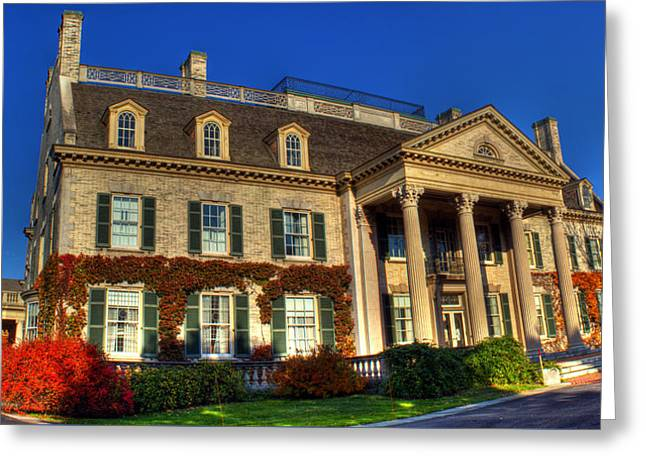 Rochester Artist Greeting Cards - George Eastman House HDR Greeting Card by Tim Buisman