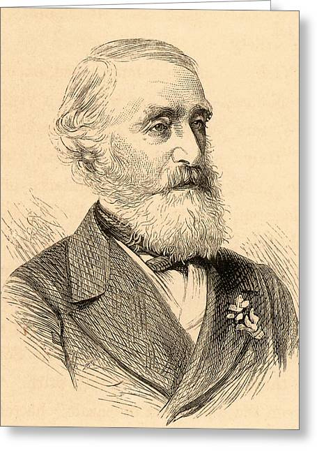 George Julius Poulett Scrope Greeting Card by Universal History Archive/uig