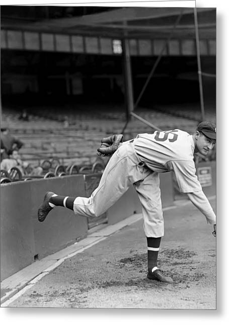 Detroit Tigers Photos Greeting Cards - George L. Gill Greeting Card by Retro Images Archive