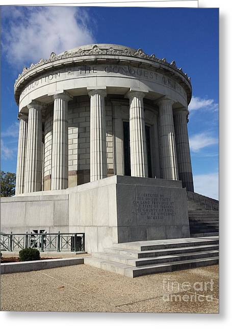 Vincennes Greeting Cards - George Rogers Clark Memorial Greeting Card by J Anthony Shuff