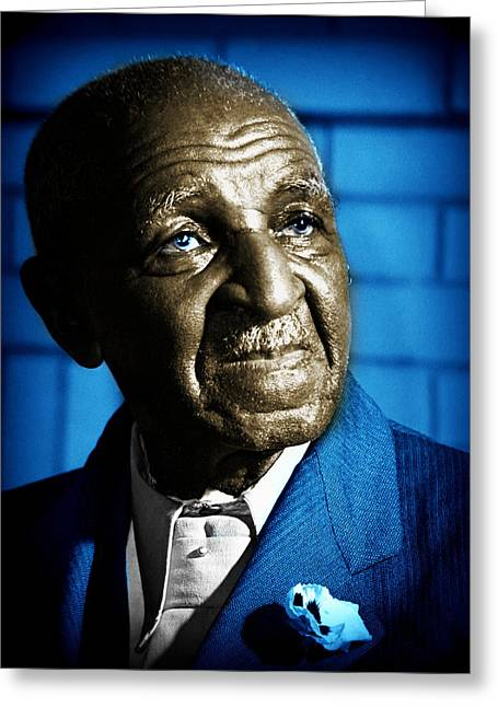 Recently Sold -  - Slavery Digital Greeting Cards - George Washington Carver Greeting Card by James Davis