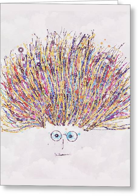 My Friend Greeting Cards - Georges Friend Greeting Card by Steven Boland