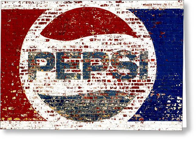 Paint Photograph Greeting Cards - Micro Pepsi Greeting Card by Ross Lewis