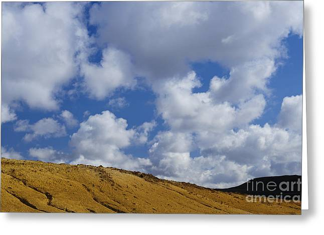 Field. Cloud Greeting Cards - Geothermal Field, Iceland Greeting Card by John Shaw