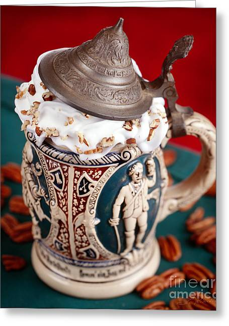 Hot Cocoa Greeting Cards - German Chocolate Drink Greeting Card by Iris Richardson