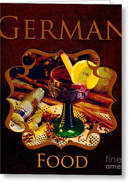 Essen Greeting Cards - German Food Gallery Greeting Card by Iris Richardson