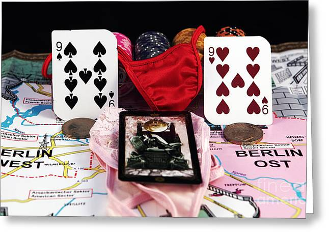 Still Life Photographs Greeting Cards - German Virgins Greeting Card by John Rizzuto